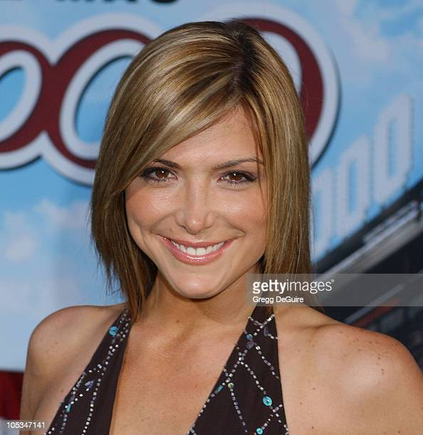 Debbie Matenopoulos during 'Mr 3000' Premiere Los Angeles at El Capitan in Hollywood California United States