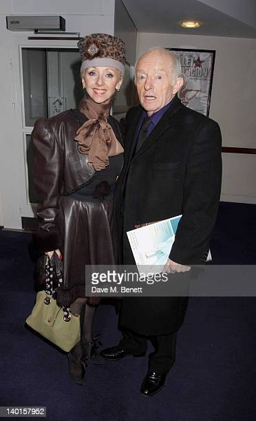 Debbie McGee and Paul Daniels attend the press night performance of 'The Houdini Experience' at The Peacock Theatre on February 28 2012 in London...