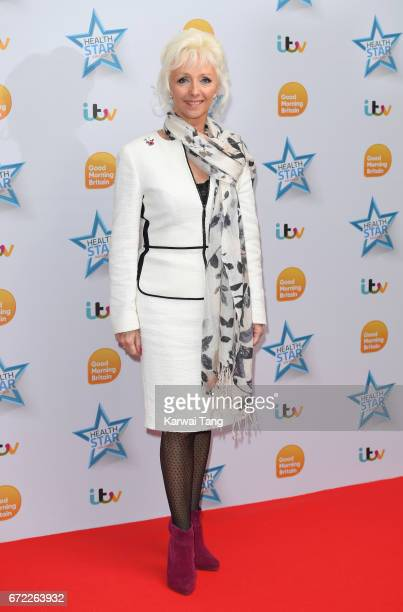 Debbie McGee attends the Good Morning Britain Health Star Awards at the Rosewood Hotel on April 24 2017 in London United Kingdom