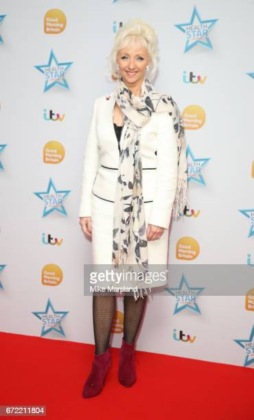 Debbie McGee attends the Good Morning Britain Health Star Awards on April 24 2017 in London United Kingdom