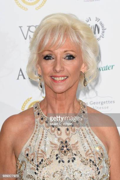Debbie McGee attends the National Film Awards UK at Porchester Hall on March 28 2018 in London England