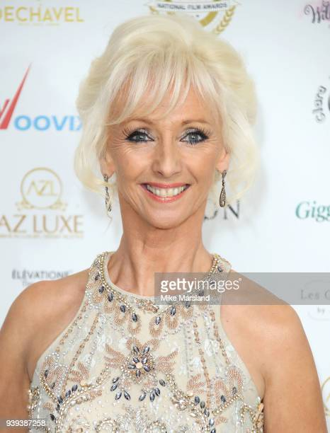 Debbie McGee attends the National Film Awards UK at Portchester House on March 28 2018 in London England