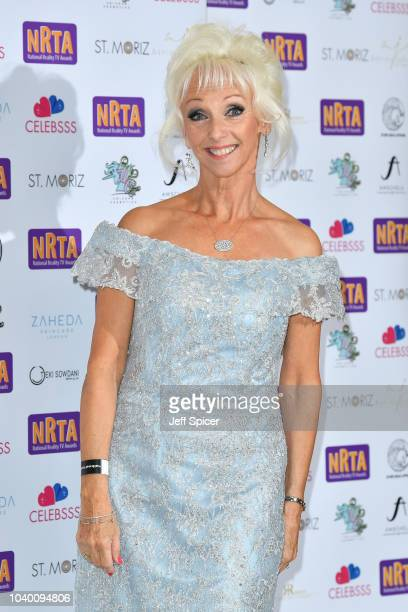 Debbie McGee attends the National Reality TV Awards held at Porchester Hall on September 25 2018 in London England