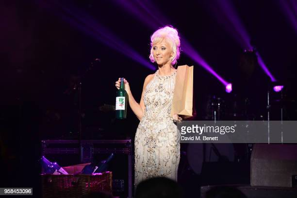 Debbie McGee attends The Old Vic Bicentenary Ball to celebrate the theatre's 200th birthday at The Old Vic Theatre on May 13 2018 in London England