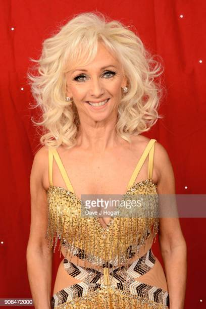 Debbie McGee attends the 'Strictly Come Dancing' Live photocall at Arena Birmingham on January 18 2018 in Birmingham England Ahead of the opening on...