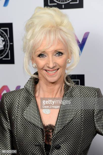 Debbie McGee attends the TRIC Awards 2018 held at The Grosvenor House Hotel on March 13 2018 in London England