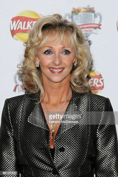 Debbie McGee attends the Walkers Campaign Launch on March 29 2010 in London England