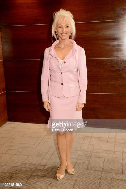 Debbie McGee MP attends the Women Of The Year Lunch at Intercontinental Hotel on October 15 2018 in London England