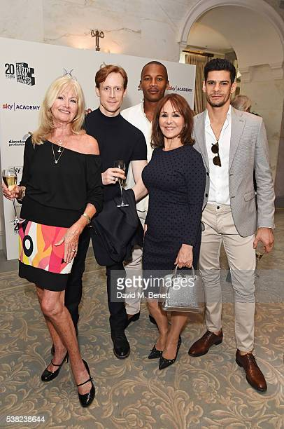 Debbie Moore Edward Watson Eric Underwood Arlene Phillips and Thiago Soares attend the The South Bank Sky Arts Awards airing on Wednesday 8th June on...