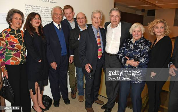Debbie Owen Nathalie Armin David Owen Tom GoodmanHill Paul Chahidi Bill Rogers Roger Allam Shirley Williams and Debra Gillett attend the press night...