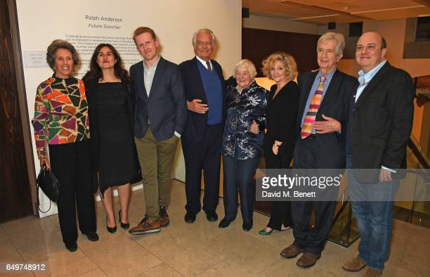 Debbie Owen Nathalie Armin Tom GoodmanHill David Owen Shirley Williams Debra Gillett Bill Rogers and Paul Chahidi attend the press night after party...