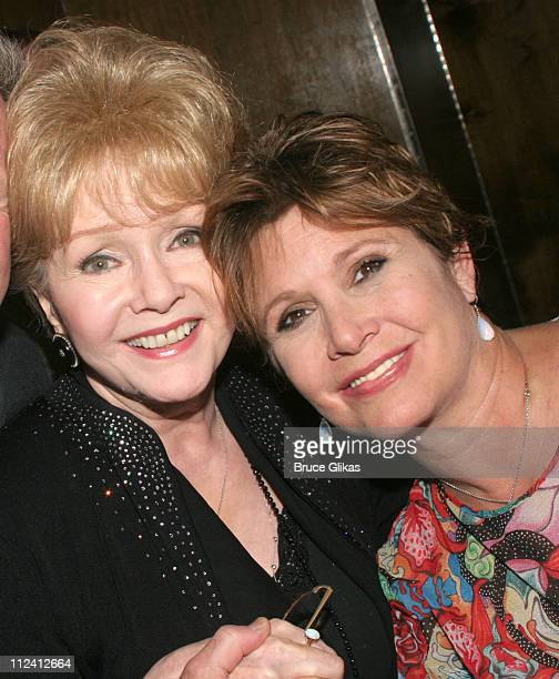 Debbie Reynolds and Carrie Fisher *Exclusive Coverage*