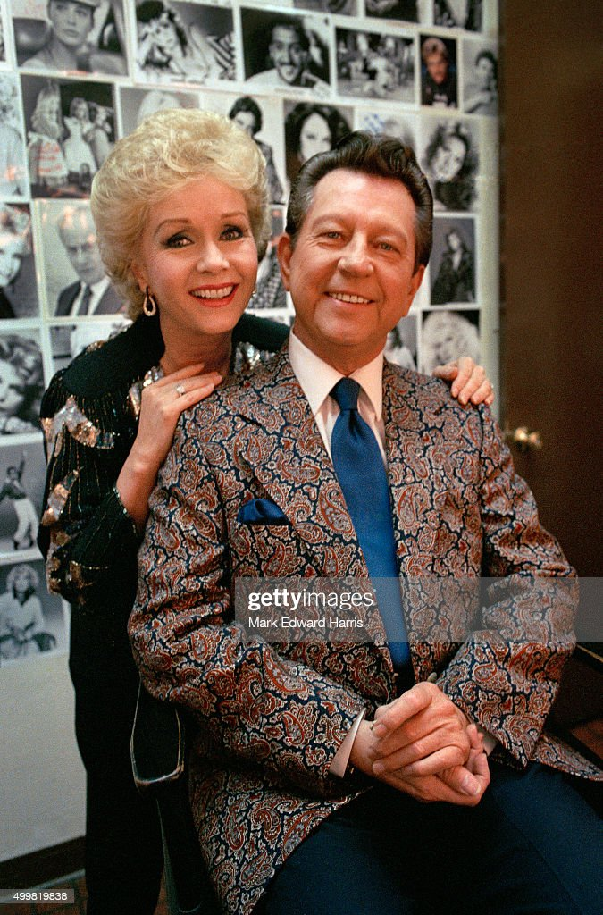 Debbie Reynolds and Donald O'Connor, August 1, 1986