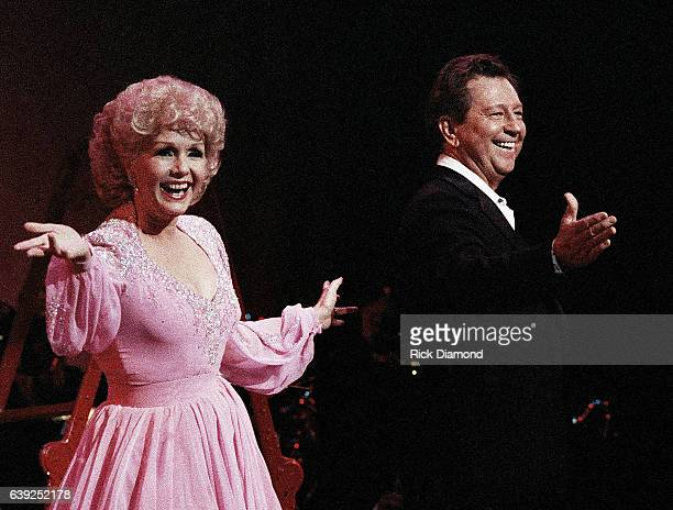 Debbie Reynolds and Donald O'Connor Perform at The Fox Theater in Atlanta Georgia October 21 1986