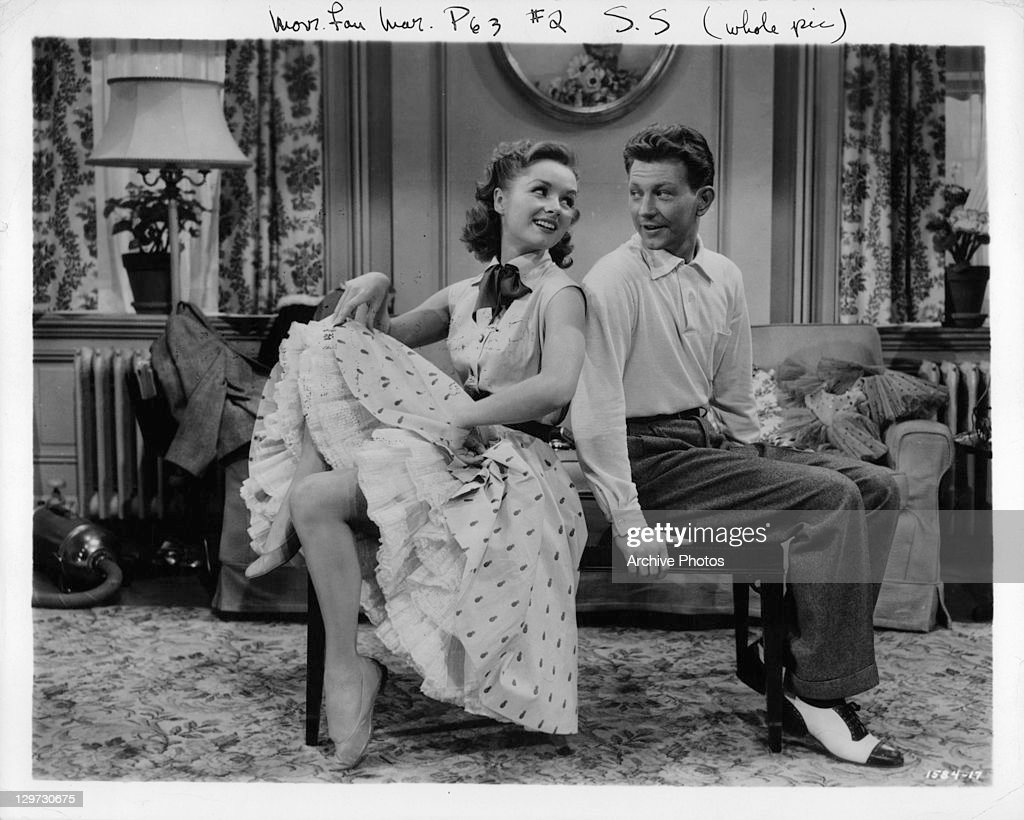 Debbie Reynolds And Donald O'Connor In 'I Love Melvin' : News Photo