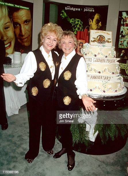 Debbie Reynolds and June Allyson during Video Software Dealers Association Convention July 25 1994 at Las Vegas Convention in Las Vegas Nevada United...