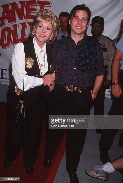 Debbie Reynolds and Todd Fisher during American Film Institute Tribute to Jack Nicholson at Caesers Palace July 24 1994 at Caesers Palace in Las...