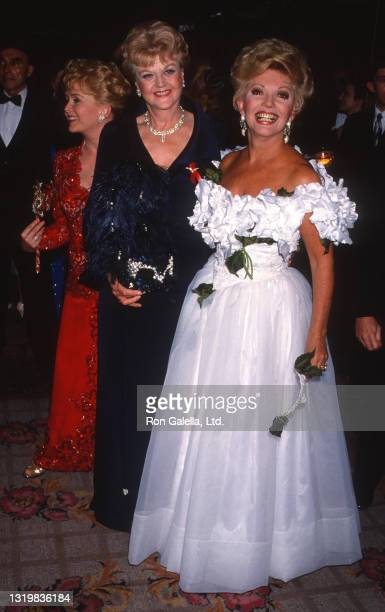 Debbie Reynolds, Angela Lansbury and Ruta Lee attend 37th Annual Thalians Ball at the Century Plaza Hotel in Century City, California on October 31,...