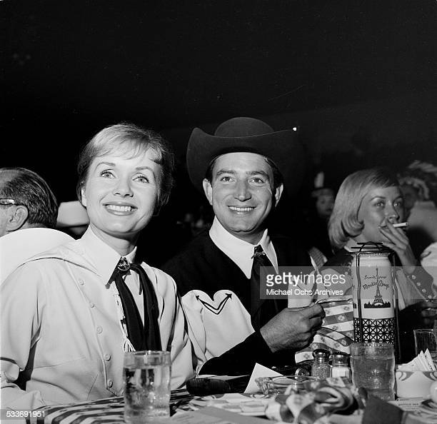 Debbie Reynolds attends an event in Los AngelesCA