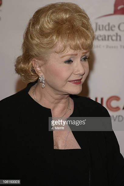 Debbie Reynolds during St Jude Runway for Life at Beverly Hilton in Beverly Hills California United States