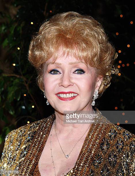 Debbie Reynolds during The Thalians 50th Anniversary Musical Extravaganza Gala Arrivals at Hyatt Regency Century City Plaza in Los Angeles California...