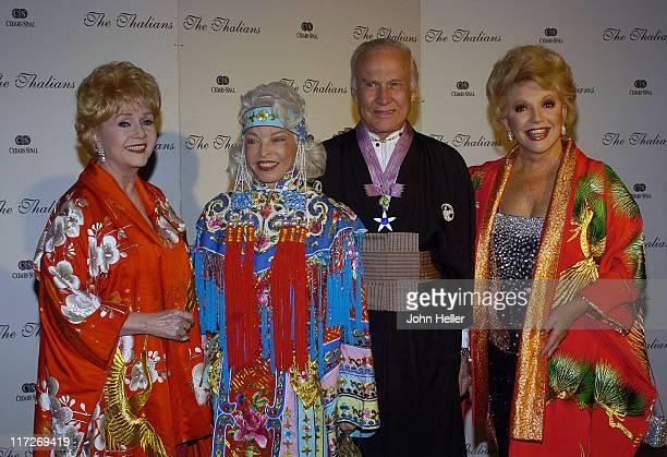 Debbie Reynolds Lois Aldrin Buzz Aldrin and Ruta Lee