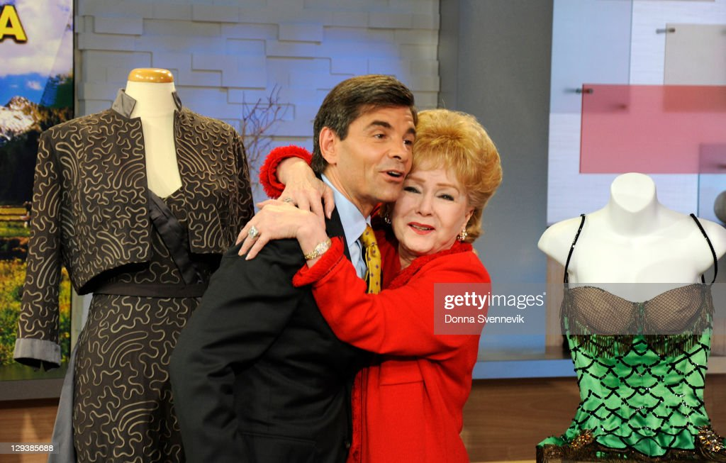 AMERICA - Debbie Reynolds shows her collection of iconic Hollywood memorabilia on 'Good Morning America,' 10/14/11, airing on the ABC Television Network. (Photo by Donna Svennevik/ABC via Getty Images)GEORGE