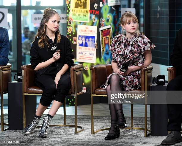 Debbie Ryan and Angourie Rice attend Build Series to discuss 'Every Day' at Build Studio on February 21 2018 in New York City