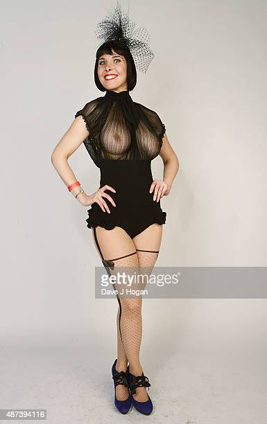 Debbie Turley poses during KFS North at The Warehouse on September 5 2015 in Leeds England