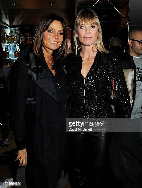Debbie Von Bismarck and Deborah Leng attend the Project Zoltar 10th anniversary celebration and launch of Zoltar the Magnificent at The Groucho Club...