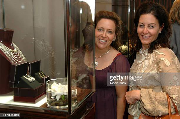 Debbie Webb and Gina Goldsmith during Lea Porter Celebrates Her Birthday at the De Beers Boutique in Beverly Hills at De Beers Boutique in Beverly...