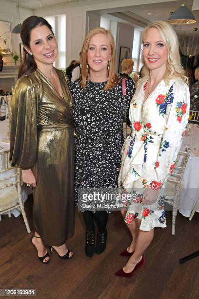 Debbie Wosskow, Sarah-Jane Mee and Anna Jones attend AllBright's inaugural BrightList Awards 2020 at all-female members club The AllBright Mayfair on...
