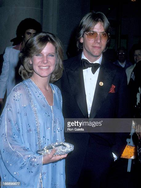 Debby Boone and Gabriel Ferrer attend 20th Annual Grammy Awards on February 23 1978 at the Shrine Auditorium in Los Angeles California