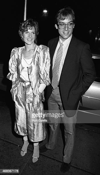 Debby Boone and Gabriel Ferrer attend the opening party for Seven Brides for Seven Brothers on July 7 1982 at the Common Good Restaurant in New York...