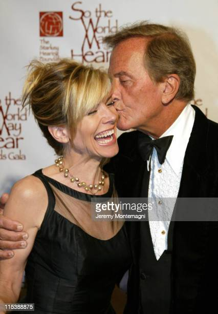 Debby Boone and Pat Boone during So The World May Hear 2003 Awards Gala at Century Plaza Hotel in Century City, California, United States.