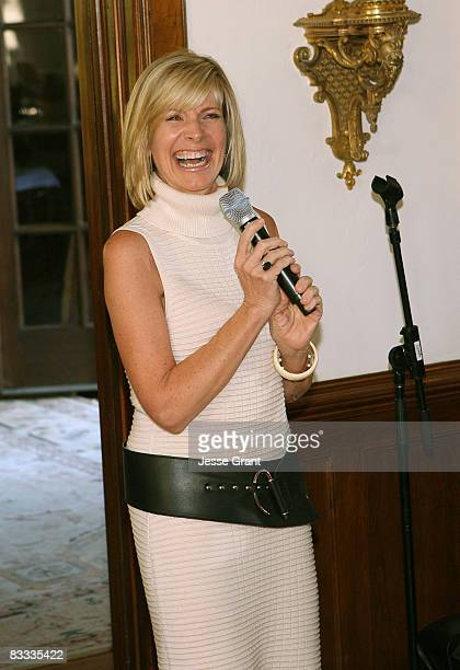 Debby Boone attends the wedding of Michael Feinstein and Terrence Flannery held at a private residence on October 17 2008 in Los Angeles California