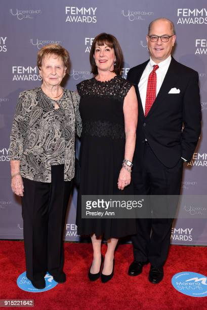 Debby Gedney and Guests attend 2018 Femmy Awards hosted by Dita Von Teese on February 6 2018 in New York City