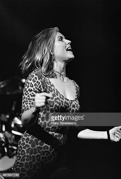 Debby Harry, vocal, performs at the Paradiso on 22nd November 1989 in Amsterdam, the Netherlands.