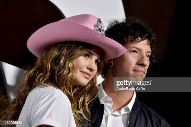 Debby Ryan and Josh Dun attend the 2019 GQ Men of the Year at The West Hollywood Edition on December 05 2019 in West Hollywood California