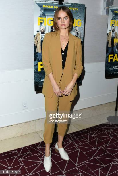 Debby Ryan attends Fighting With My Family Los Angeles Tastemaker Screening at The London Hotel on February 20 2019 in West Hollywood California