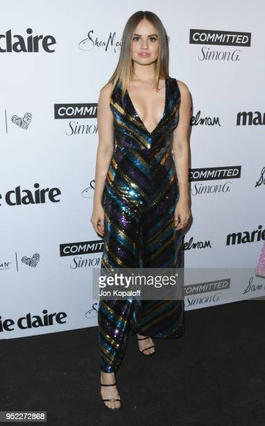 Debby Ryan attends Marie Claire's 5th Annual 'Fresh Faces' at Poppy on April 27 2018 in Los Angeles California
