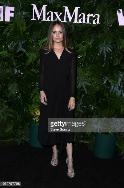 Debby Ryan attends Max Mara WIF Face Of The Future at Chateau Marmont on June 12 2018 in Los Angeles California