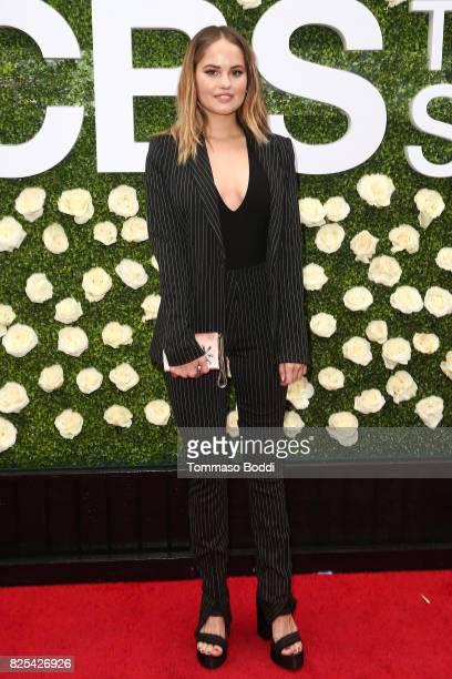 Debby Ryan attends the 2017 Summer TCA Tour CBS Television Studios' Summer Soiree at CBS Studios Radford on August 1 2017 in Studio City California
