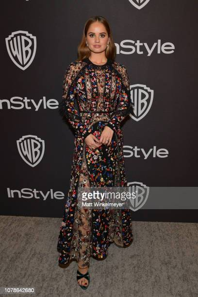 Debby Ryan attends the 2019 InStyle and Warner Bros 76th Annual Golden Globe Awards PostParty at The Beverly Hilton Hotel on January 6 2019 in...