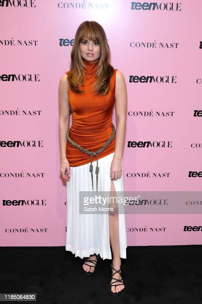 Debby Ryan attends the 2019 Teen Vogue Summit at Goya Studios on November 02 2019 in Hollywood California