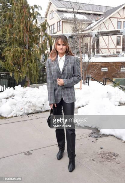 Debby Ryan attends the 2020 Sundance Film Festival In Park City on January 27 2020 in Park City Utah