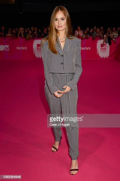 Debby Ryan attends the MTV EMAs 2018 at the Bilbao Exhibition Centre on November 04 2018 in Bilbao Spain