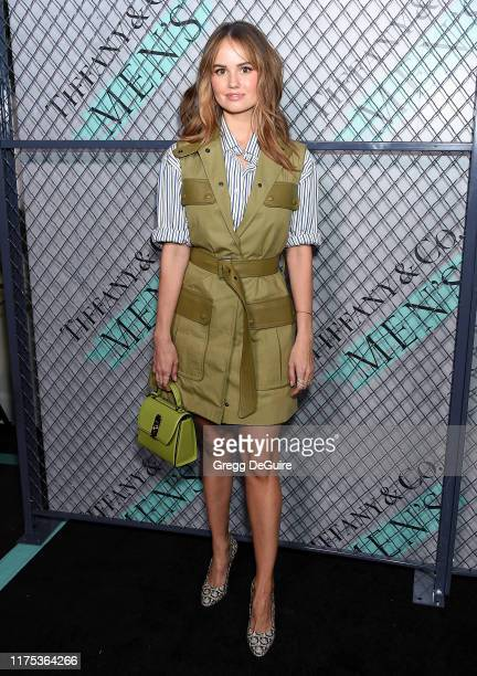 Debby Ryan attends Tiffany Co launch of the new Tiffany Men's Collections at Hollywood Athletic Club on October 11 2019 in Hollywood California