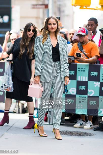 Debby Ryan is seen in NoHo on August 7 2018 in New York City