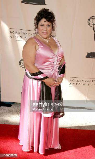 Debi Gutierrev during 57th Annual Los Angeles Area Emmy Awards Arrivals Reception at Leonard H Goldenson Theatre in North Hollywood California United...